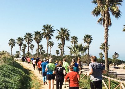 Laufcamp Andalusien